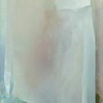 Asetelma (kevyt), öljy kankaalle, 40cm x 35cm, 2016