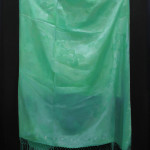Asetema (viridian), öljy kankaalle 100cm x 70cm, 2016